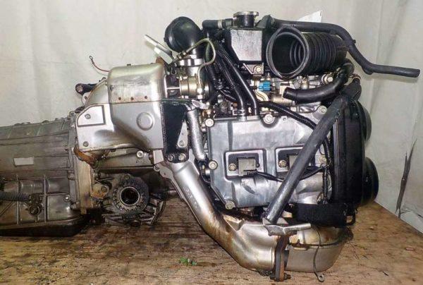 Двигатель Subaru EJ20-T - B871653 AT TG5C7CBABA-Y5 FR 4WD EJ20X BP5 комп 6