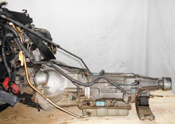 Двигатель Toyota 1G-FE - 6945701 AT 03-70LS A42DE-A05A FR GX110 BEAMS 108 000 km коса+комп 6