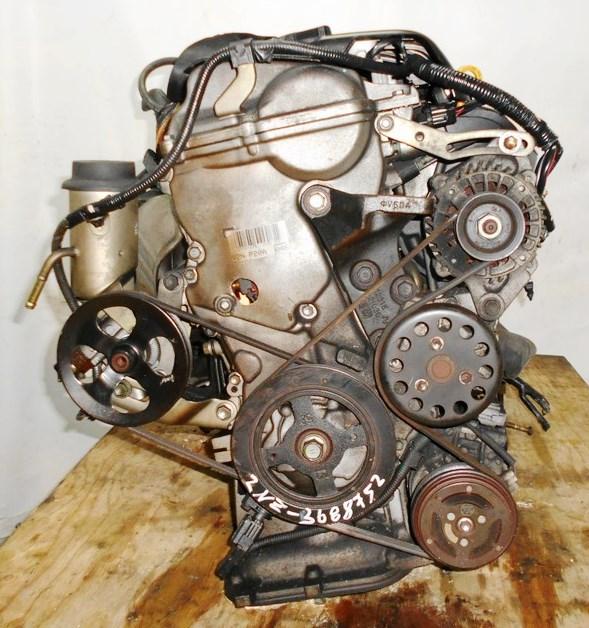 Двигатель Toyota 2NZ-FE - 3688752 AT U441E FF NCP30 коса+комп, без датчика скорости 3