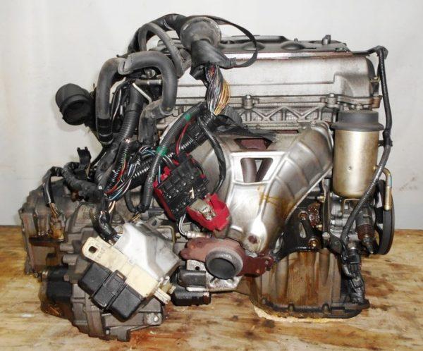 Двигатель Toyota 2NZ-FE - 3688752 AT U441E FF NCP30 коса+комп, без датчика скорости 5