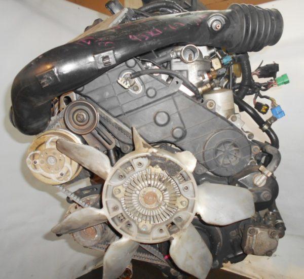 Двигатель Isuzu 4JX1-T - 674792 AT 30-40LE FR (99KR406353) 4WD Bighorn трос кикдауна коса+комп, неисправна форсунка 5