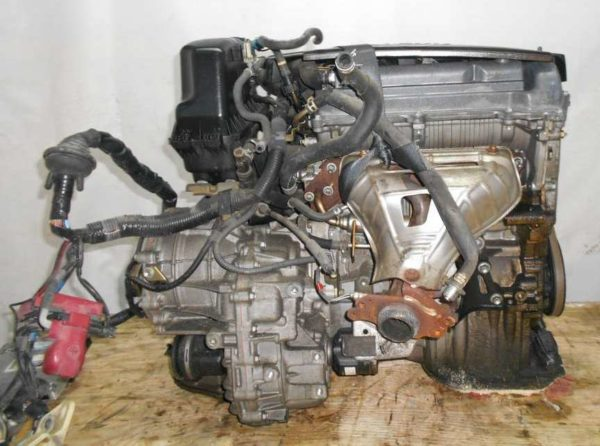 Двигатель Toyota 1NZ-FE - B761654 CVT K210-02A FF NCP81 151 000 km электро дроссель коса+комп 4