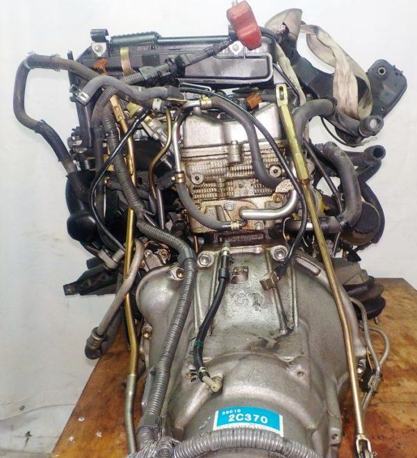 Двигатель Toyota 1G-FE - 7042309 AT 03-70LS A42DE-A04A FR GX110 BEAMS 160 980 km коса+комп 7