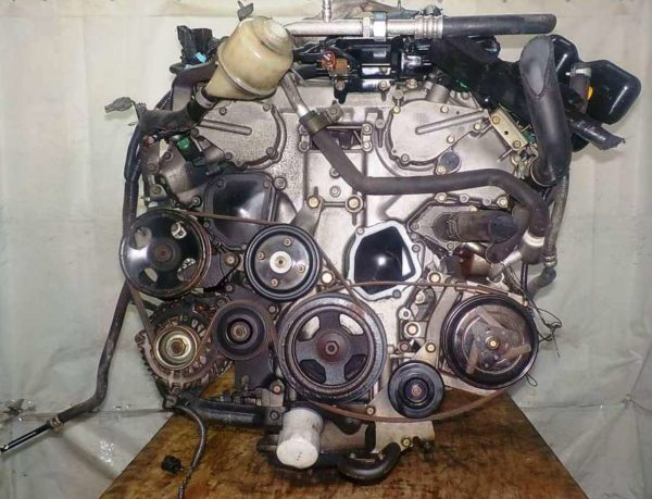 Двигатель Nissan VQ35-DE - 577810A AT FR 4WD Elgrand коса+комп 6