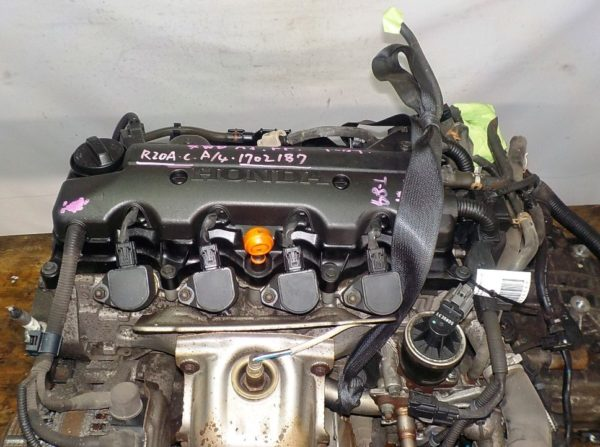 Двигатель Honda R20A - 1702187 AT MXHA FF 4WD RK коса+комп 2