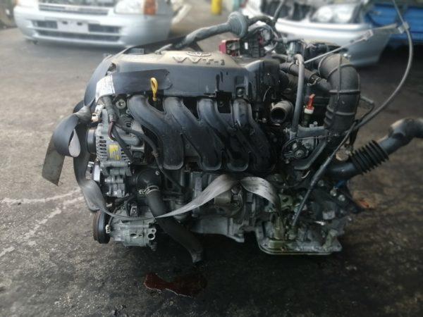 Двигатель Toyota 2NZ-FE - 5931122 AT U441E-03A FF NNP10 121 000 km коса+комп 3