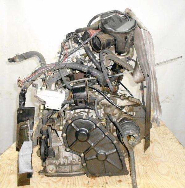 Двигатель Nissan QG15-DE - 29918B AT RE4F03B FQ38 FF Y11 электро дроссель коса+комп 6