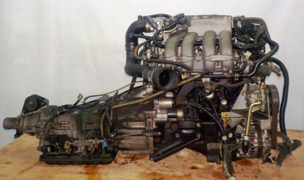 Двигатель Mazda FE - 504242 AT FR SGEW коса+комп 4