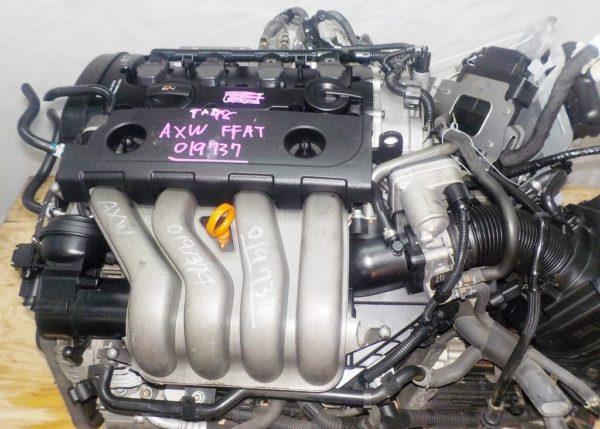 Двигатель Volkswagen AXW - 019737 AT FF коса+комп 2