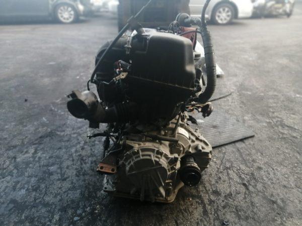 Двигатель Toyota 2NZ-FE - 5931122 AT U441E-03A FF NNP10 121 000 km коса+комп 5