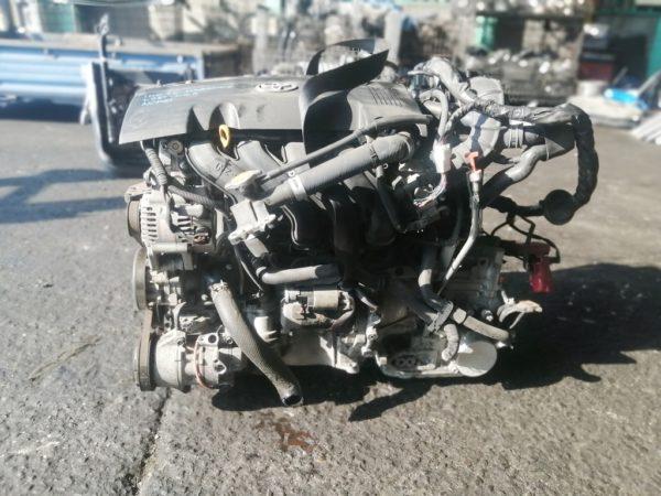 Двигатель Toyota 1NZ-FE - D484002 CVT K210-02A FF NCP81 156 000 km электро дроссель коса+комп 1