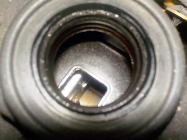 Двигатель Nissan QR20-DE - 173620A CVT FF TC24 брак корпуса генератора без КПП 8