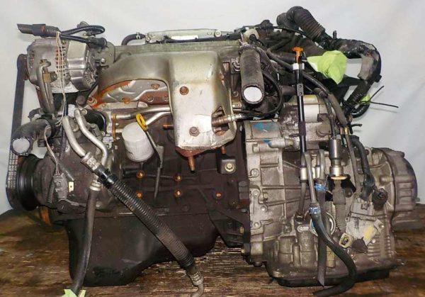 Двигатель Toyota 5S-FE - 1060839 AT A541F FF 4WD Gracia коса+комп 1