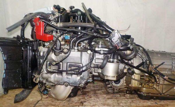 Двигатель Subaru EJ20-T - B871653 AT TG5C7CBABA-Y5 FR 4WD EJ20X BP5 комп 1