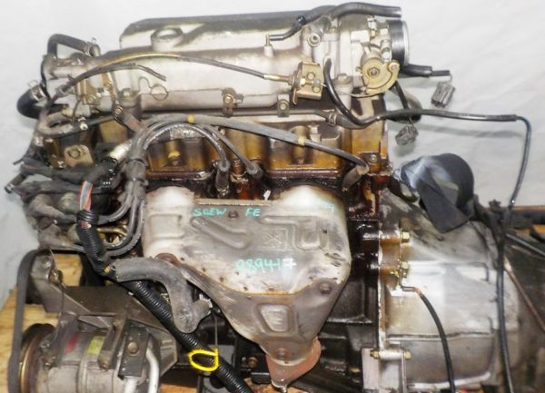 Двигатель Mazda FE - 989417 AT FR SGEW 159 000 km коса+комп 2