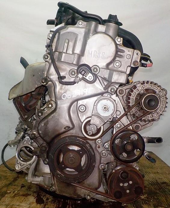 Двигатель Nissan MR18-DE - 062719A CVT RE0F08A FF коса+комп 3