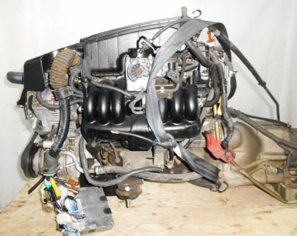 Двигатель Toyota 1G-FE - 6945701 AT 03-70LS A42DE-A05A FR GX110 BEAMS 108 000 km коса+комп 1