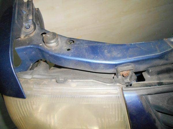 Ноускат Mitsubishi Pajero Mini, (1 model) (W101831) 5