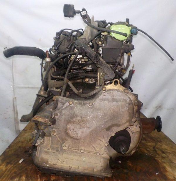 Двигатель Toyota 5E-FE - 0880195 AT A244F FF 4WD трамблер коса+комп 7