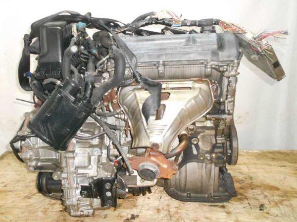 Двигатель Toyota 1NZ-FE - БЕЗ НОМЕРА CVT K210-02A FF NCP81 154 000 km электро дроссель коса+комп 4