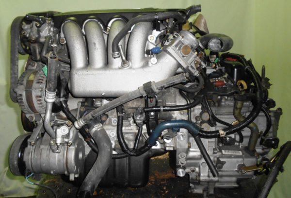 Двигатель Honda K20B - 1002012 CVT MZXA FF RN5 коса+комп 1