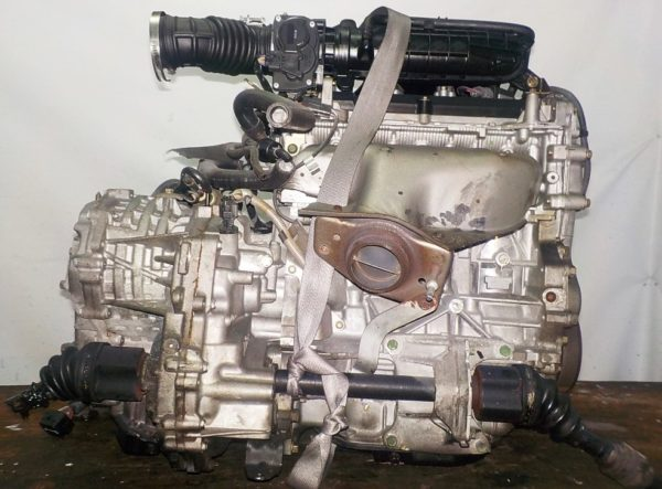 Двигатель Nissan MR18-DE - 007984A CVT RE0F08A FF коса+комп 4