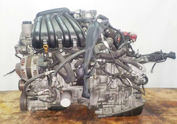 Двигатель Nissan HR15-DE - 078721B CVT RE0F08B GH54 FF E11 124 136 km коса+комп 1