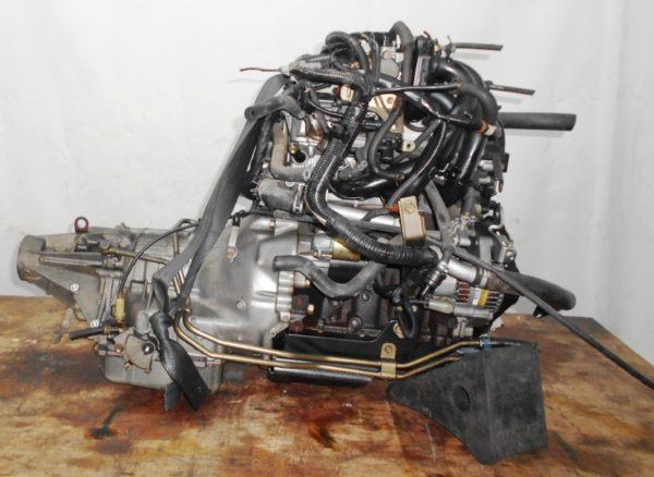 Двигатель Daihatsu EF-DET - 7498784 AT FR JBS5 J131G 96 000 km коса+комп 5