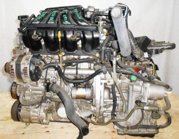 Двигатель Nissan MR20-DE - 229988A CVT RE0F10A FF C25 129 000 km коса+комп 1