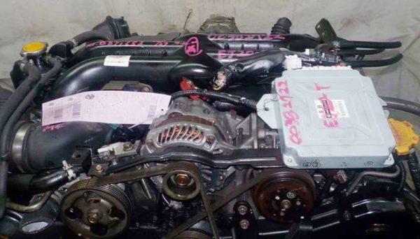 Двигатель Subaru EJ20-T - B871653 AT TG5C7CBABA-Y5 FR 4WD EJ20X BP5 комп 2