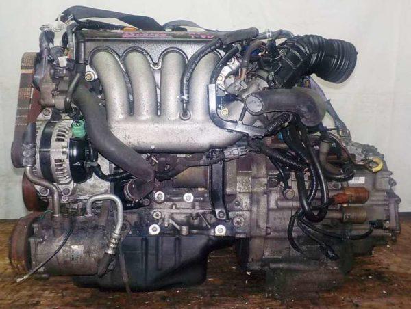 Двигатель Honda K24A - 2508364 AT MGTA FF Accord коса 1