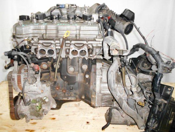 Двигатель Nissan QG15-DE - 29918B AT RE4F03B FQ38 FF Y11 электро дроссель коса+комп 1