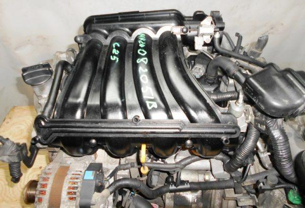 Двигатель Nissan MR20-DE - 082051B CVT RE0F10A FF C25 129 000 km коса+комп 2
