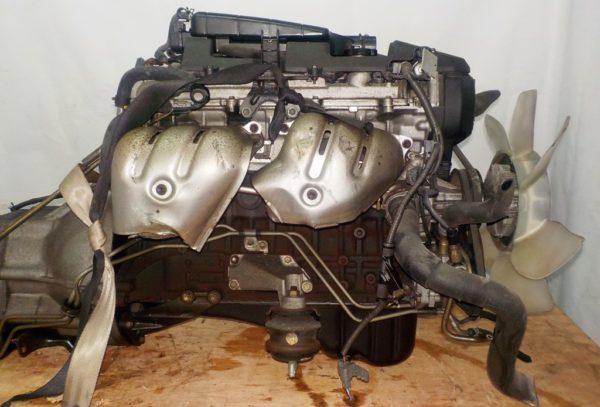 Двигатель Toyota 1G-FE - 6975201 AT 03-70LS A42DE-A05A FR GX110 BEAMS 160 000 km коса+комп 5