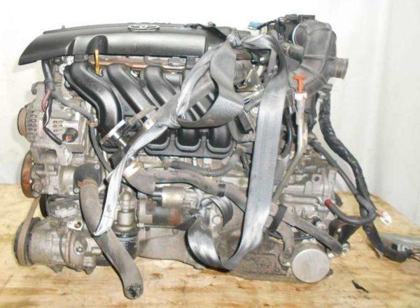 Двигатель Toyota 1NZ-FE - B761654 CVT K210-02A FF NCP81 151 000 km электро дроссель коса+комп 1