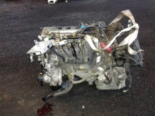 Двигатель Toyota 1ZZ-FE - 1298962 AT U341E FF ZCT10 Black 143 000 km коса+комп 1