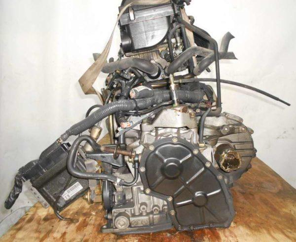 Двигатель Nissan CR14-DE - 249687 AT RE4F03B FF Z11 102 000 km коса+комп 5