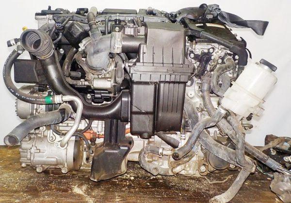 Двигатель Toyota 2ZR-FXE - 6637141 CVT P610-01A FF ZVW50 15′ коса+комп 1
