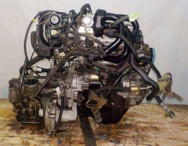 Двигатель Daihatsu EF-VE - 7578982 AT FF комп 5