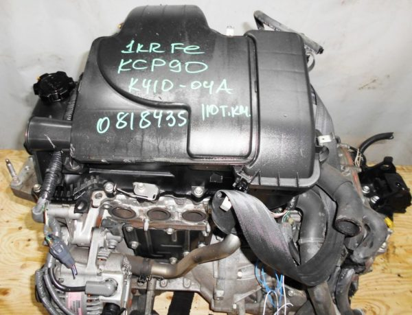 Двигатель Toyota 1KR-FE - 0818435 CVT K410-04A FF KSP90 111 000 km 6