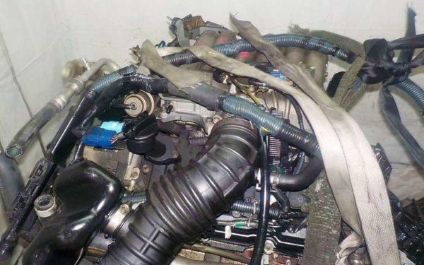 Двигатель Nissan VQ35-DE - 577810A AT FR 4WD Elgrand коса+комп 2