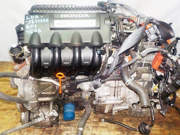 Двигатель Honda LDA - 5214840 CVT SE7A FF GP1 коса+комп 2