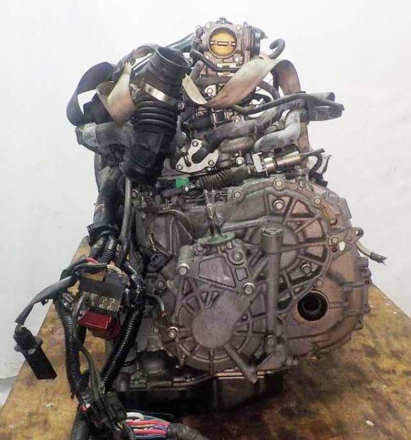 Двигатель Nissan HR15-DE - 224465A CVT RE0F08B GH54 FF YGZ11 111 703 km коса+комп 5