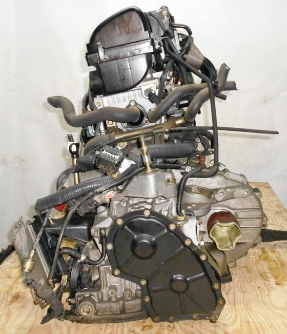 Двигатель Nissan CR12-DE - 251487 AT RE4F03B FQ40 FF AK12 75 000 km коса+комп 2