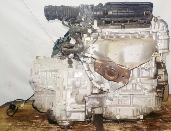 Двигатель Nissan MR18-DE - 042662A CVT RE0F08A FF коса+комп 4