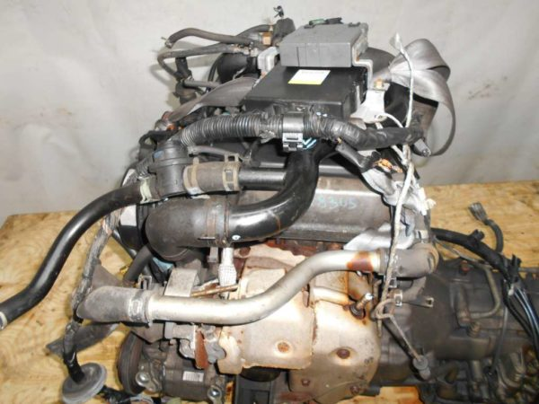 Двигатель Daihatsu EF-DEM - 6678385 AT GLS8 FR J131G 121 000 km коса+комп 2