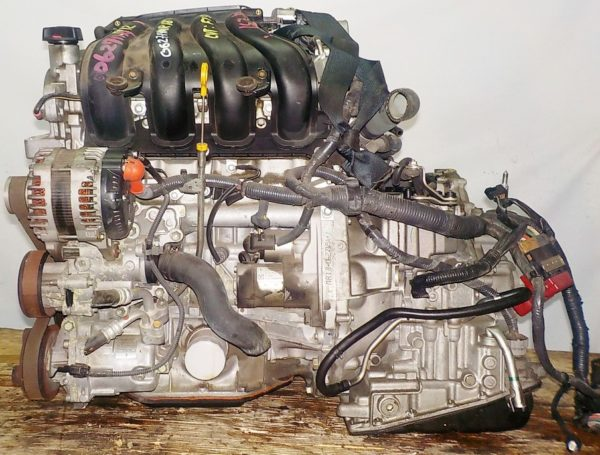 Двигатель Nissan MR18-DE - 062719A CVT RE0F08A FF коса+комп 1