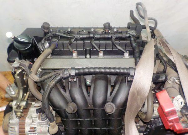 Двигатель Mitsubishi 4A90 - 0027051 CVT F1C1A FF Z21A 59 714 km коса+комп 2