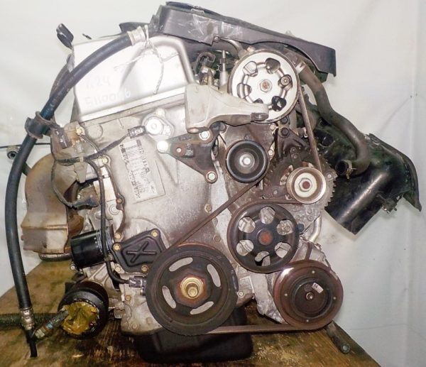 Двигатель Honda K24A - 5110046 AT MFHA FF RB1 коса+комп 5