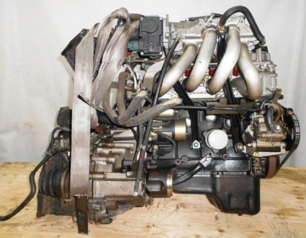 Двигатель Nissan QG15-DE - 29918B AT RE4F03B FQ38 FF Y11 электро дроссель коса+комп 5